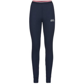 Odlo Active Originals Warm Pants Women diving navy